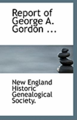 Paperback Report of George a Gordon Book