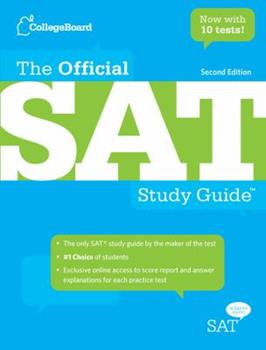 Paperback The Official SAT Study Guide Book