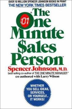 Paperback The One Minute Sales Person Book