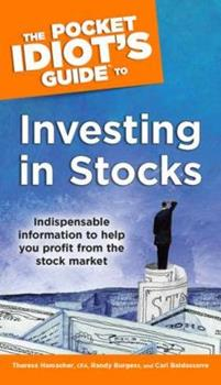 The Pocket Idiot's Guide to Investing in Stocks (Pocket Idiot's Guide) - Book  of the Pocket Idiot's Guide