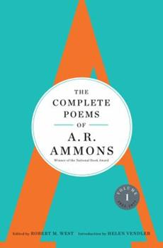 The Complete Poems of A. R. Ammons: Volume 1 1955-1977 0393070131 Book Cover