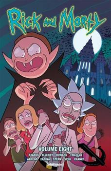 Paperback Rick and Morty Vol. 8, 8 Book