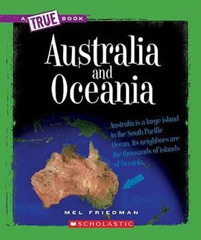 Australia and Oceania - Book  of the A True Book