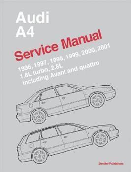Paperback Audi A4 Service Manual: 1996-2001 Book
