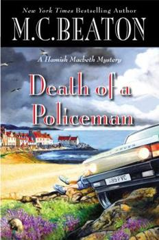 Hardcover Death of a Policeman (A Hamish Macbeth Mystery, 29) Book