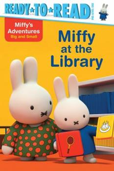 Paperback Miffy at the Library Book