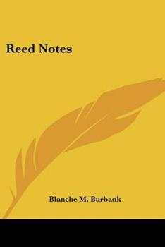 Paperback Reed Notes Book