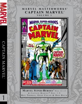 Marvel Masterworks Captain Marvel 1 - Book #50 of the Marvel Masterworks
