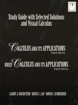 Study Guide With Selected Solutions and Visual Calculus : Calculus and Its Applications, Brief Calculus and Its Applications 0130961280 Book Cover