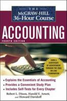 Paperback The Mcgraw-Hill 36-Hour Accounting Course, 4th Ed Book