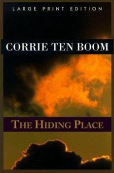 Paperback The Hiding Place (Walker Large Print Books) [Large Print] Book