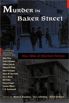 Murder in Baker Street: New Tales of Sherlock Holmes 0786708980 Book Cover