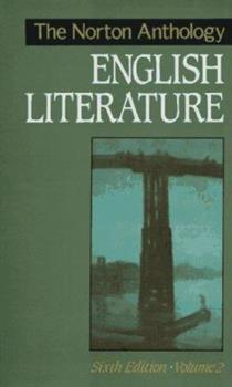 Paperback The Norton Anthology of English Literature Book