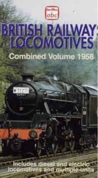 Paperback abc British Railways Locomotives Combined Volume 1958 (Ian Allan ABC) Book