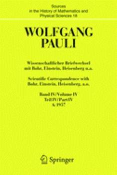 Hardcover Wissenschaftlicher Briefwechsel Mit Bohr, Einstein, Heisenberg U.A. / Scientific Correspondence with Bohr, Einstein, Heisenberg A.O.: Band/Volume IV T [German] Book