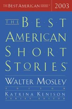 The Best American Short Stories 2003 (The Best American Series) 061819732X Book Cover