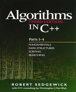 Paperback Algorithms in C++, Parts 1-4: Fundamentals, Data Structure, Sorting, Searching Book
