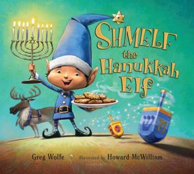 Hardcover Shmelf the Hanukkah Elf Book