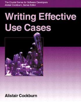 Writing Effective Use Cases 0201702258 Book Cover