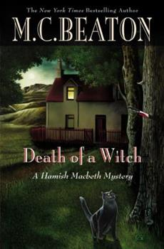 Hardcover Death of a Witch (Hamish Macbeth Mysteries, No. 25) Book