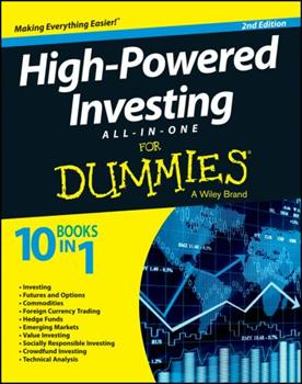 High-Powered Investing All-In-One For Dummies 0470186267 Book Cover