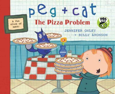Peg + Cat: The Pizza Problem - Book  of the Peg + Cat