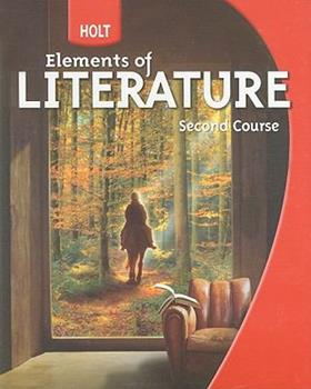 Hardcover Holt Elements of Literature: Student Edition Grade 8 Second Course 2009 Book