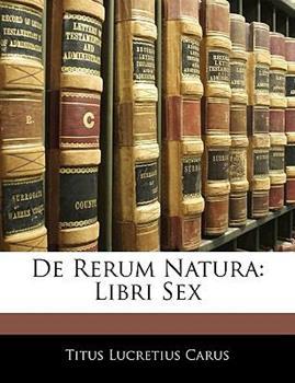 Paperback De Rerum Natur : Libri Sex Book