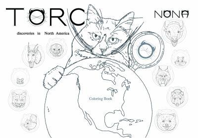 Paperback TORC 1 Discoveries in North America Coloring Book