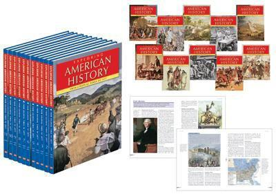 Library Binding Exploring American History : From Colonial Times to 1877 (11 Volume Set) Book