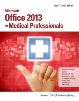 Paperback Microsoft? Office 2013 for Medical Professionals Book