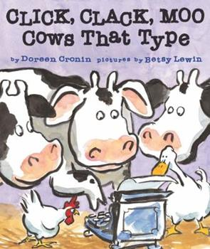 Board book Click, Clack, Moo : Cows That Type Book