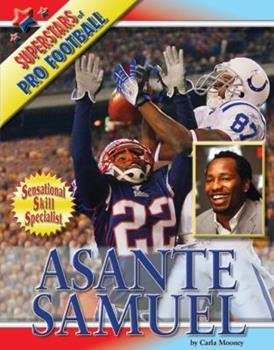 Asante Samuel - Book  of the Superstars of Professional Football