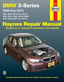 Paperback BMW 3-Series 2006 Thru 2014 320i/320xi (12-14),325i/325xi/330i/330xi (06), 328i/328xi (07-14) Haynes Repair Manual: 320i, 320xi (2012 Thru 2014), 325i Book