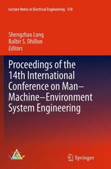 Paperback Proceedings of the 14th International Conference on Man-Machine-Environment System Engineering Book