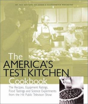 The America's Test Kitchen Cookbook 093618454X Book Cover
