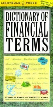 Dictionary of Financial Terms (Lightbulb Press) 0071359036 Book Cover