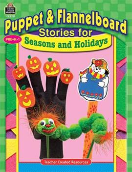 Paperback Puppet & Flannelboard Stories for Seasons and Holidays Book