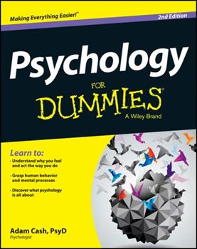 Psychology for Dummies 0764554344 Book Cover