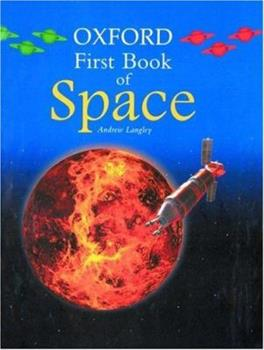 Oxford First Book of Space 0195216865 Book Cover