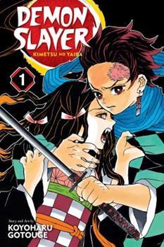 Demon Slayer: Kimetsu no Yaiba, Vol. 1 - Book #1 of the  / Kimetsu no Yaiba