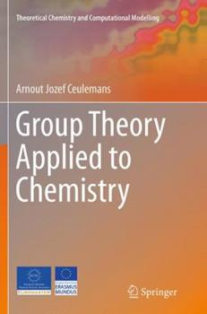 Paperback Group Theory Applied to Chemistry Book