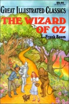 The Wizard of Oz - Book  of the Great Illustrated Classics