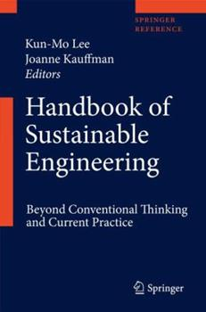 Hardcover Handbook of Sustainable Engineering Book