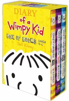 Diary of a Wimpy Kid: #4-6 [Box Set] - Book  of the Diary of a Wimpy Kid