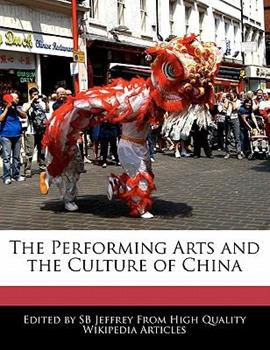 Paperback The Performing Arts and the Culture of Chin Book