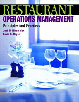Restaurant Operations Management: Principles and Practices 0131100904 Book Cover