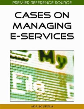 Hardcover Cases on Managing E-Services Book