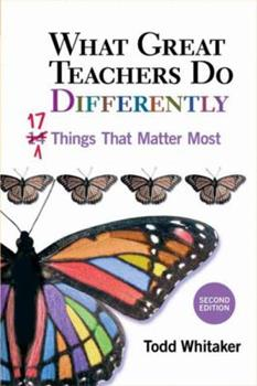Paperback What Great Teachers Do Differently : 17 Things That Matter Most Book