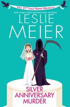Hardcover Silver Anniversary Murder Book